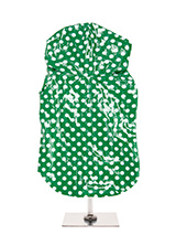 Green Polka Dot PVC Waterproof Raincoat - Our design team did not have to look far for inspiration before they came up with this 1960's inspired high gloss Polka dot raincoat. A walk around Carnaby Street inspired us to produce this rainy day essential available in four colour popping styles. This an authentic retro style that will add a cu...