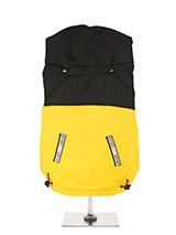 Yellow / Black Windbreaker Jacket - This lightweight windbreaker jacket with detachable hood is shower proof and wind proof and can be rolled up and carried in your pocket. So you need never be caught out again by the rain while out walking. Or as so often happens with a walk it starts out nice but ends up getting cold long before you...