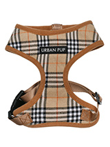 Brown Checked Tartan Harness - Our Brown Checked Tartan Harness is a traditional design which is stylish, classy and never goes out of fashion. It is lightweight and incredibly strong. Designed by Urban Pup to provide the ultimate in comfort and safety. It features a breathable material for maximum air circulation that helps prev...