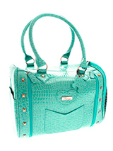 Saint-Tropez Pet Carrier - A fabulous bag for carrying your pet this season! As well as being a perfect accessory for you, this bag is also a very stylish, yet practical pet carrier. Unlike ordinary bags, the Saint-Tropez Pet Carrier is specifically designed to be a pet carrier, and can be used in several ways to make your pe...