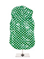 Carnaby Polka Dot Hooded Waterproof Raincoat