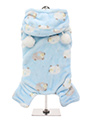 Baby Blue Counting Sheep Onesie