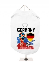 ''World Cup 2018: Germany'' Harness-Lined Dog T-Shirt