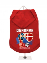 ''World Cup 2018: Denmark'' Dog Hoodie / T-Shirt