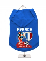 ''World Cup 2018: France'' Dog Hoodie / T-Shirt