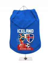 ''World Cup 2018: Iceland'' Dog Hoodie / T-Shirt