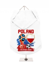 ''World Cup 2018: Poland'' Dog Hoodie / T-Shirt