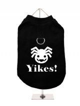 ''Halloween: Spider Yikes!'' Harness-Lined Dog T-Shirt