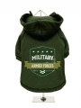 ''Military Armed Forces'' Dog Sweatshirt
